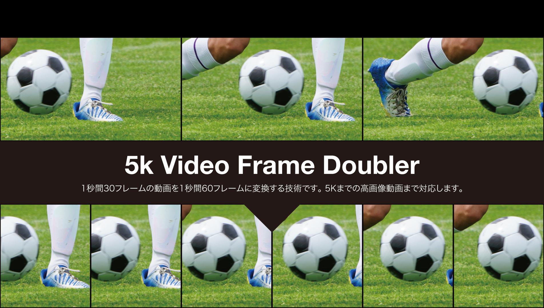 5k Video Frame Doubler